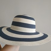 Шляпа с большими полями новая без бирки