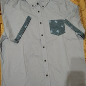 Мужская рубашка шведка безрукавка лето европа Livergy