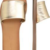 Нові стильні шкіряні шльопанці Aldo р.38-39. Шлепанцы кожа