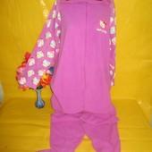 Кигуруми ,комбинезон ,слип, пижама, боди флис грудь 57-65 см Hello Kitty (Хелло Кити) !!!!!!!