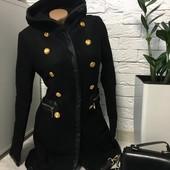 Стильное и качественное пальто ! размер м-с