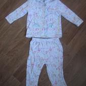 Пижама на девочку 2-3 года в нормальном состоянии