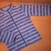 Флисовая кофта для девочки, на 7 лет, на рост 122