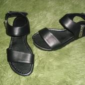 Стоп!! Женские кожаные босоножки размер 39