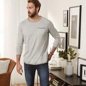 Стильный мужской хлопковый пуловер Livergy. Размер M, евро 48-50