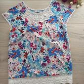 Блузка нарядная рр uk16. L, xl. Хорошее состояние