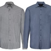 Шикарная рубашка с Кашемиром Modern fit livergy.размер L. Ворот 41-42