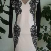 Шикарное женское нарядное платье р.10!!!