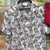 Много новинок!!!Шикарная блузка ,ткань шифоновая, размер 40, состояние отличное
