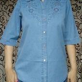 Джинсовые рубашкаи,одна на выбор Размер 50-58