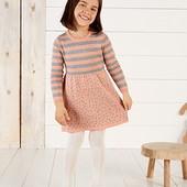 Гарне трикотажне платтячко , розм 110/116, бренд lupilu Геpманія