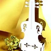 """Корзинка для цветов """" Скрипка"""""""