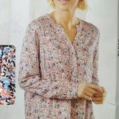 Классная вискозная блуза Esmara Германия размер евро 40