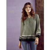 Шикарная вискозная блуза Esmara Германия размер евро 44