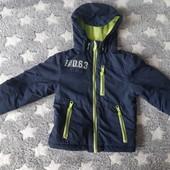 Куртка демисезонная теплая размер 86-98
