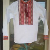 Вишиванка - 128 р. /тканина Льон