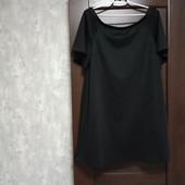 Фирменное новое красивое трикотажное платье р.16-20