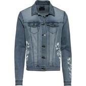 Джинсовая куртка Esmara с вышивкой, размер M