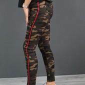 Модные женские джеггинсы стрейчевые. Размер на выбор.