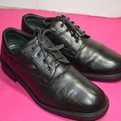 Мужские кожаные туфли Claudio Conti (Bangladesh) 44 р. стелька 28 см.
