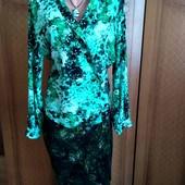 Шикарна блузка на запах