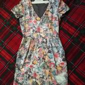 Сама нежность! атласное платье H&M р. 4/34, можно подростку