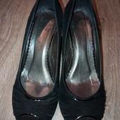 Замшевые туфли monarch р.37