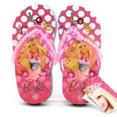Фирменные вьетнамки с Барби Barbie Дисней Disney 25, 26 размер