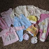 Пакет вещей для малышки 0-3 месяца