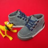 Ботинки Next натур замша 24 размер