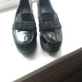 Туфли на платформе классные ст.26см.