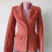 Стильный вельветовый пиджак блейзер в отличном состоянии