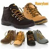 Шикарные деми ботинки Hanrytom. 3 цвета. 40-42 р.