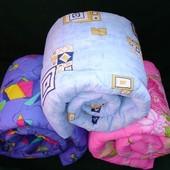 Теплое стегананное силиконовое одеяло. Двухспальное или полуторное