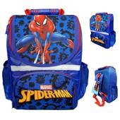 """Хит продаж!!! Рюкзак """"Spider-Man"""",с ортопедической спинкой + пенал/тубус!!! Фирма """"paso""""! Польша!!!"""