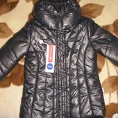 Шикарная тёплая пальто-куртка Original Marines (Италия) 2-4г как новая!