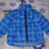 Деми курточка на мальчика 98/104см