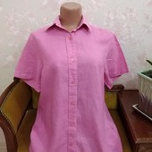 Льняная женская рубашка Lewin, размер Л