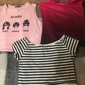 Три футболки и комбез в подарок!!