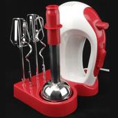 Миксер кухонный ручной блендер-миксер 3 в 1 Молния, Molnia 300 Вт