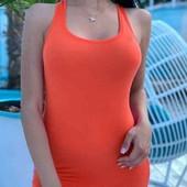 Трикотажное женское платье. Одно на выбор.