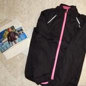 женская вело куртка дождевик от Crivit