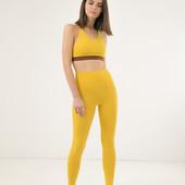 Распродажа !Крутые, фирменные,легенькие ярко желтые легинсы Legs. под эко кожу !!!!