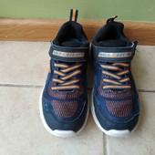 Кроссовки Скечерс в хорошем состоянии, светятся при ходьбе, стелька  20 см