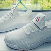 Текстильные кроссовки, стильный дизайн. Отличное качество!!!