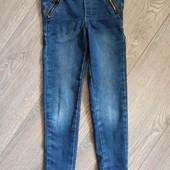 Джегинцы ,джинсовый трикотаж.6 лет.