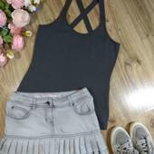 (9) Необычная юбка и спортивная майка шикарного качества. S-M