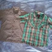 Одним лотом 2 рубашки. На 5-7 лет, размер 116