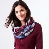 Стильный яркий женский снуд-шарф от тсм tchibo, Германия