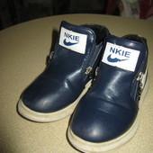 Кожаннве ботиночки на всю осень без дефектов!р 29 ст 17 см!
